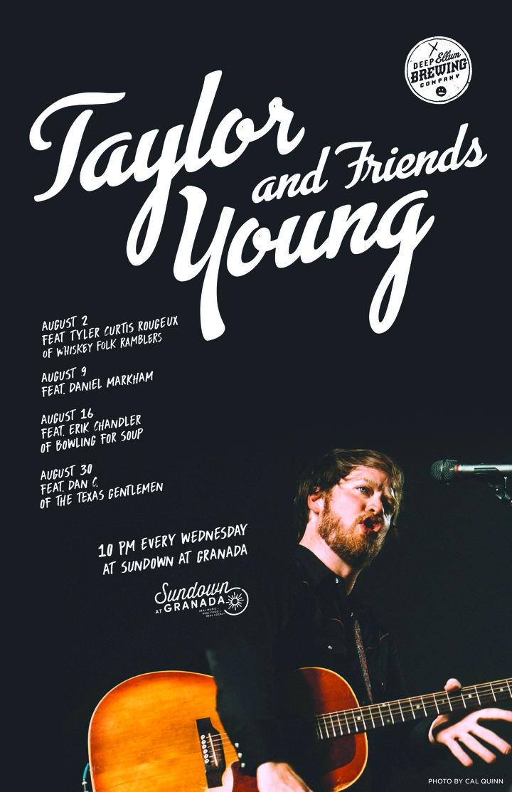 Taylor Young @ Sundown - Dallas, TX