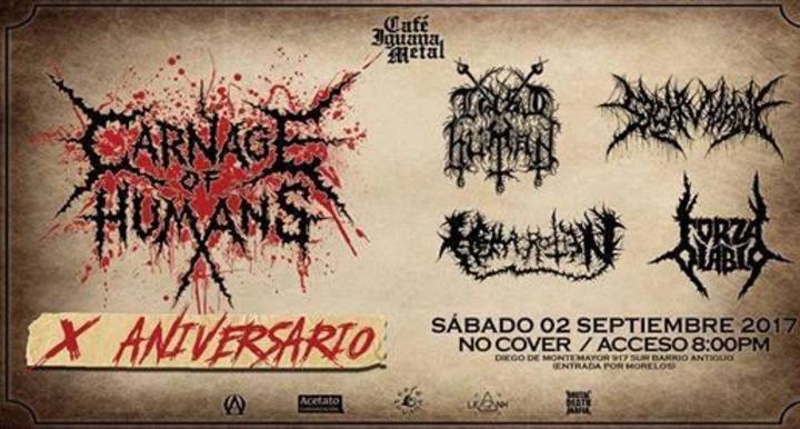 Last Human 666 @ Cafe Iguana Salon Metal - Monterrey, Mexico