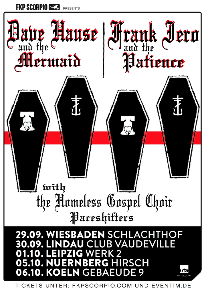 Dave Hause @ Gebauede 9 - Cologne, Germany