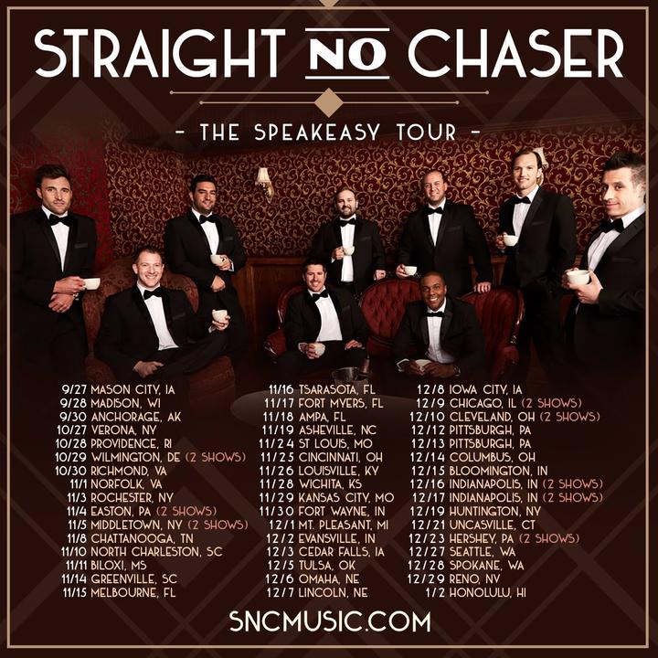 Straight No Chaser @ Turning Stone Resort Casino - Verona, NY