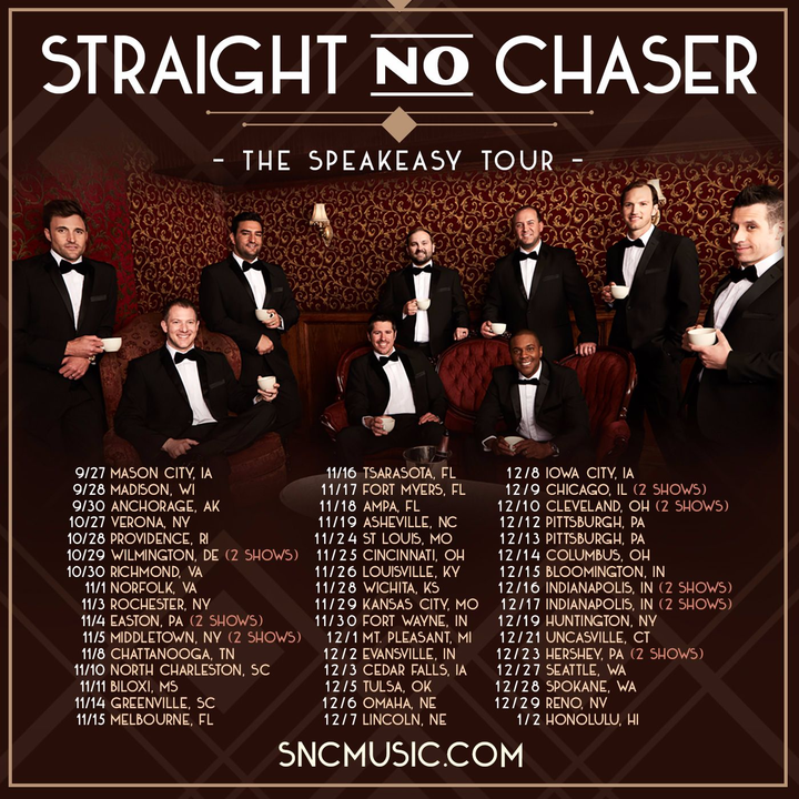 Straight No Chaser @ Paramount Theatre (Evening) - Middletown, NY