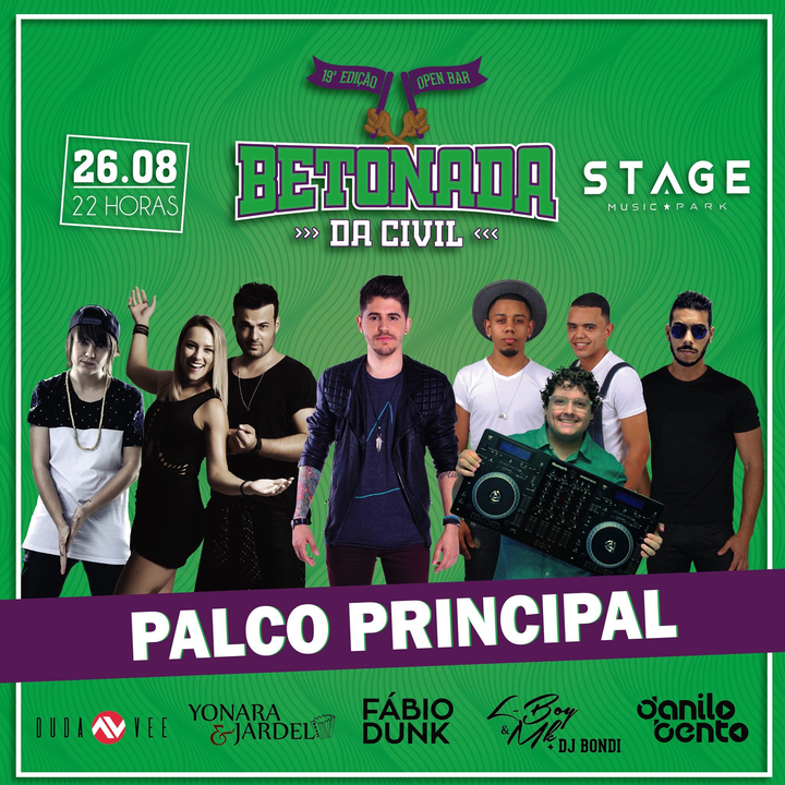 DJ Duda Vee @ Music Park - Florianópolis, Brazil