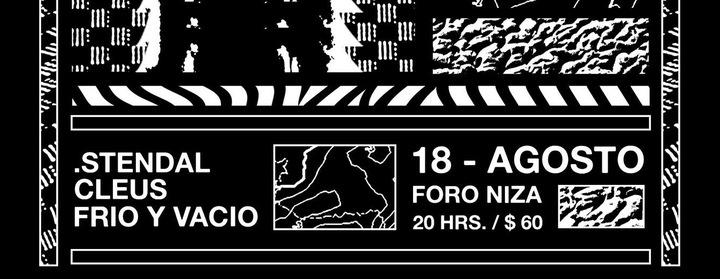 Stendal @ Foro Niza 40  - Ciudad De Mexico, Mexico
