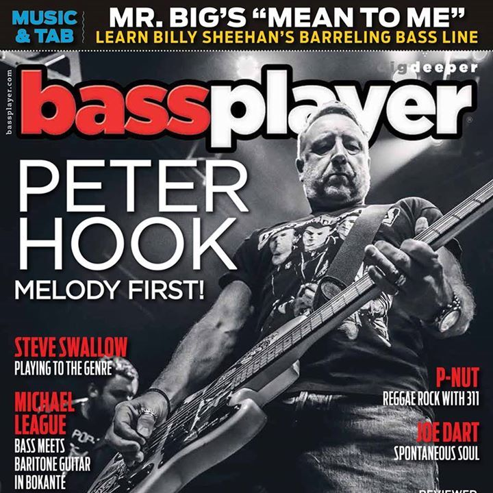 Bass Player Magazine Tour Dates