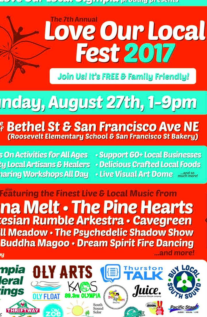 Cavegreen @ Love Our Local Fest - Olympia, WA