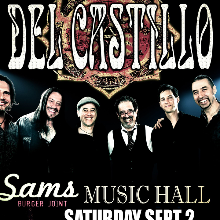 Del Castillo @ Sam's Burger Joint Music Hall - San Antonio, TX