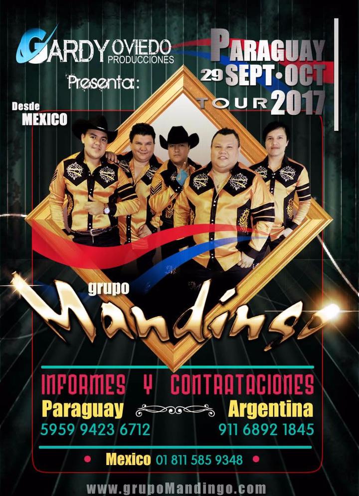 Grupo Mandingo @ Salon Multiuso de la Seccion Colorada - María Auxiliadora, Paraguay