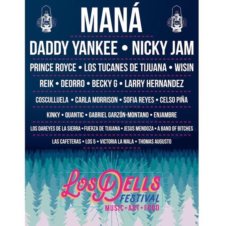 Los 5 @ Los Dells Festival - Wisconsin Dells, WI
