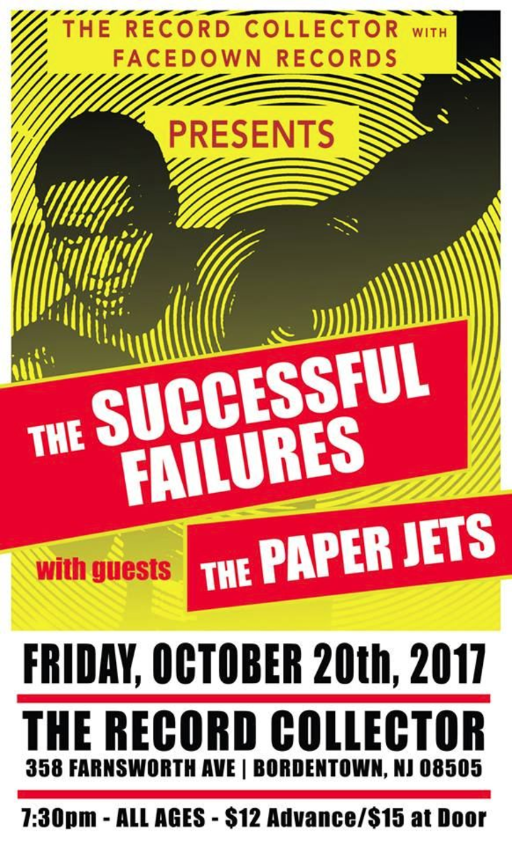 the Successful Failures @ The Record Collector - Bordentown, NJ