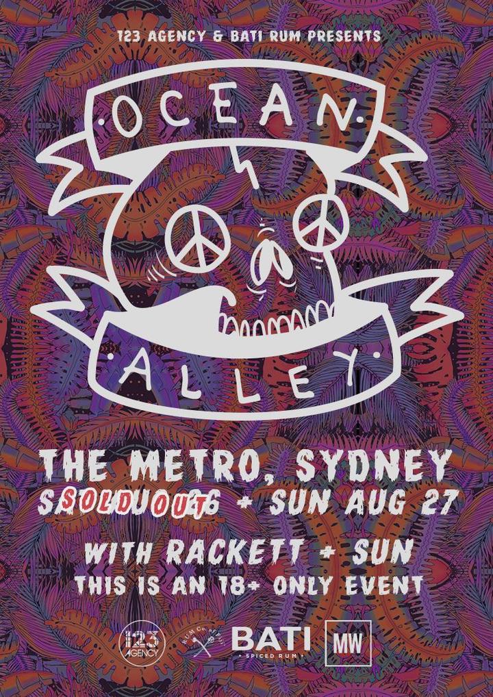 Rackett @ The Metro Theatre - Sydney, Australia
