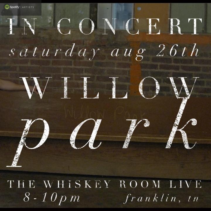 Willow Park Tour Dates