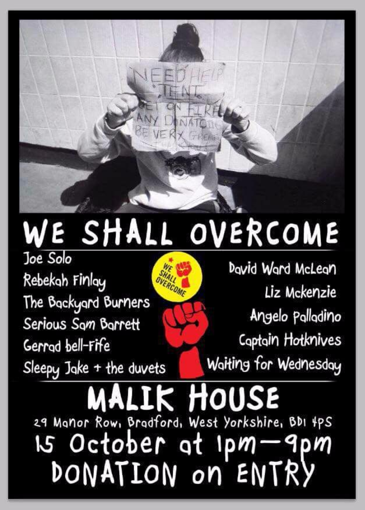 Waiting for Wednesday @ Malik House - Bradford, United Kingdom