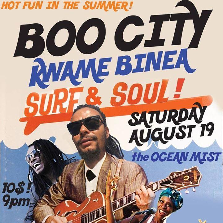 Boo City Tour Dates