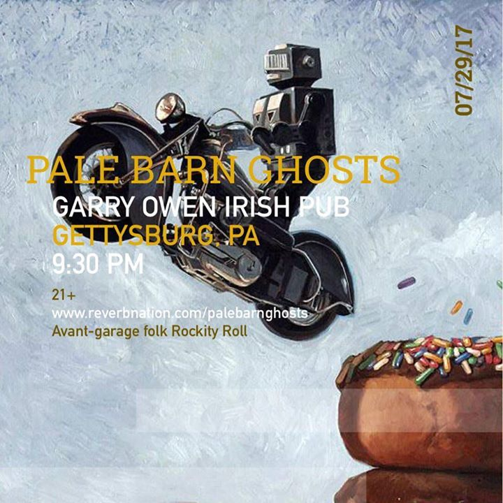 The Pale Barn Ghosts Tour Dates