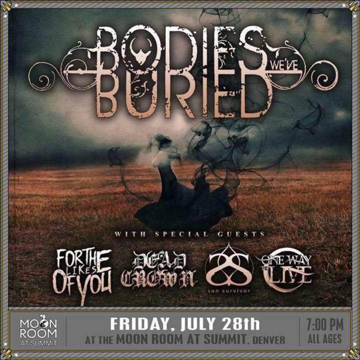 Bodies We've Buried Tour Dates