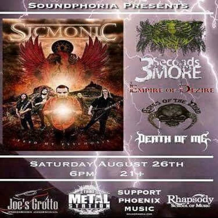 Sicmonic Tour Dates