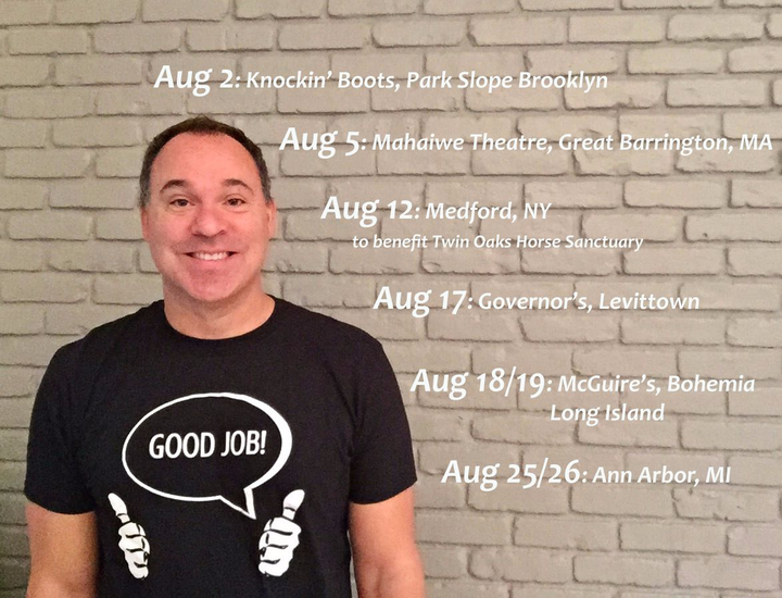 Andy Pitz, Comedian Tour Dates