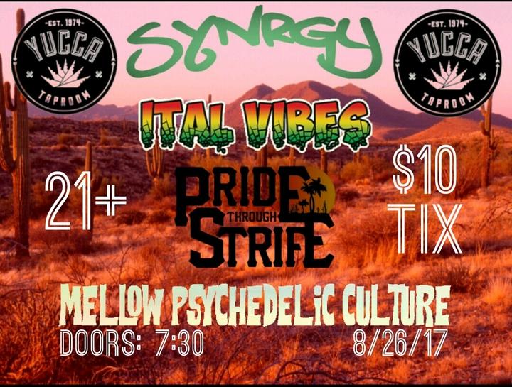 Mellow Psychedelic Culture @ Yucca Tap Room  - Tempe, AZ