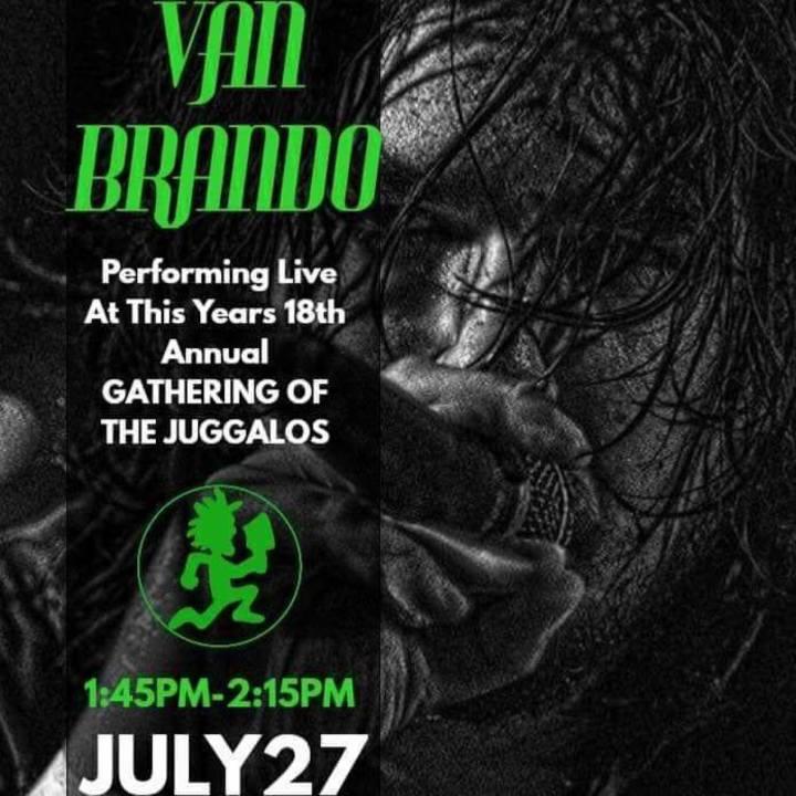 Van Brando Nation Tour Dates