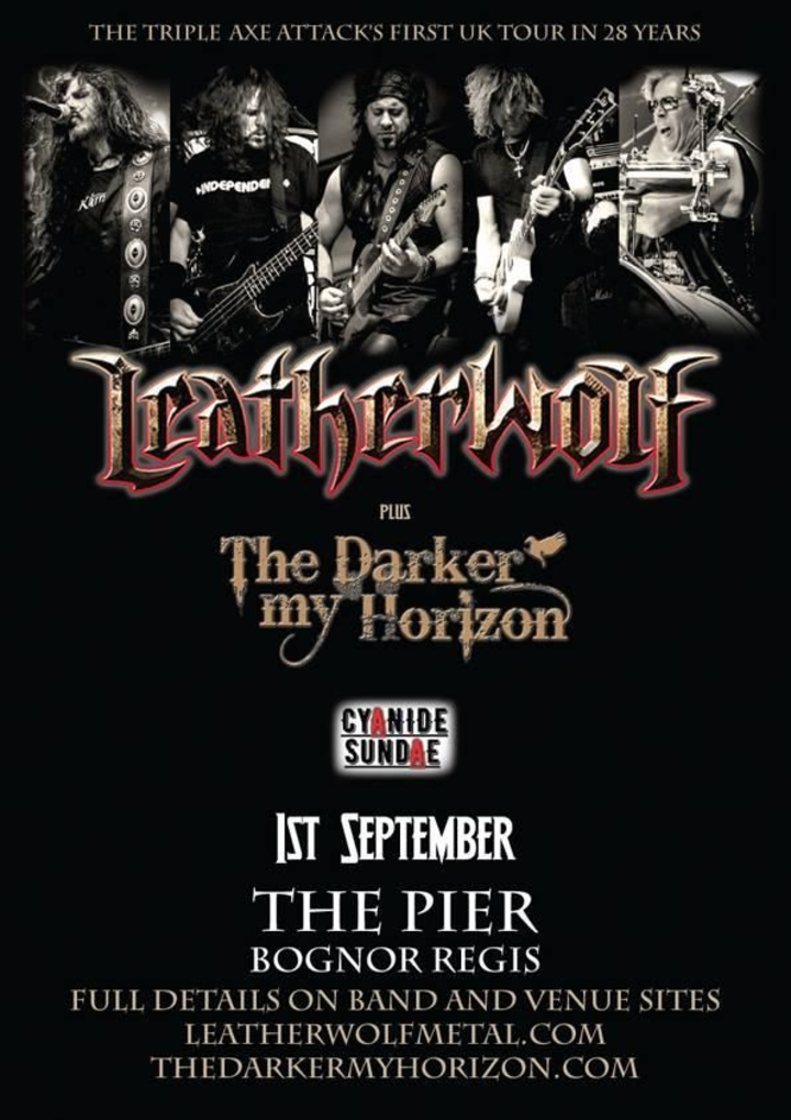 Leatherwolf @ The Pier - Bognor Regis, United Kingdom