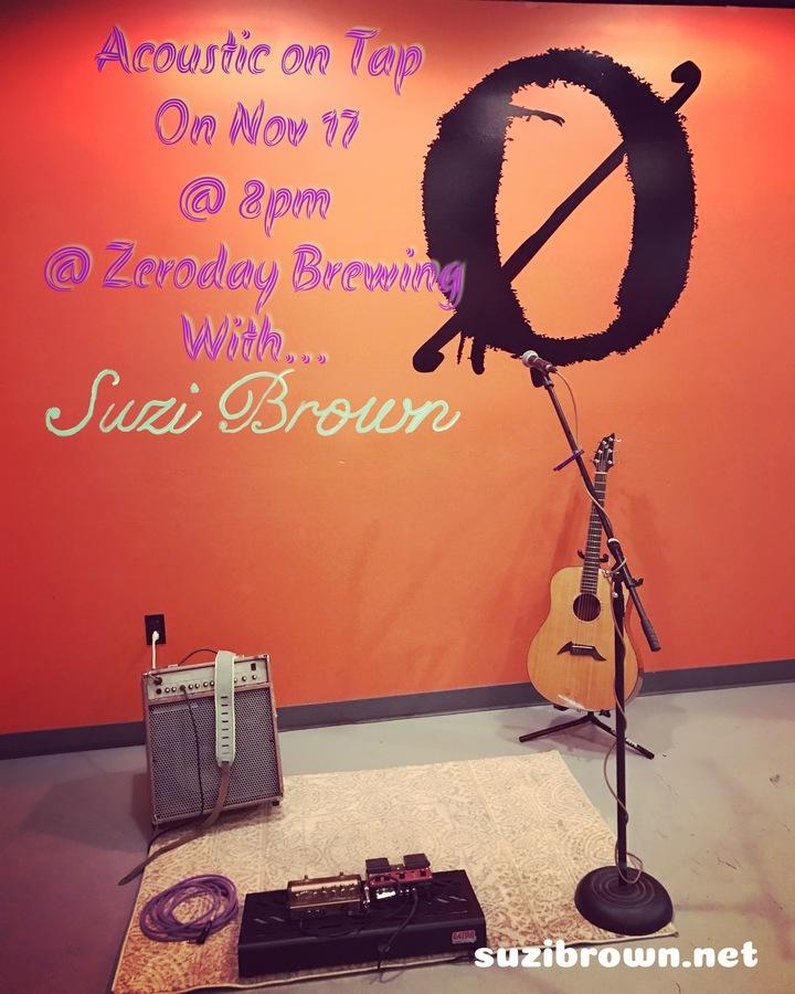 Suzi Brown @ Zero Day Brewery - Harrisburg, PA