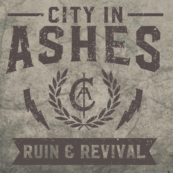 City in Ashes Tour Dates