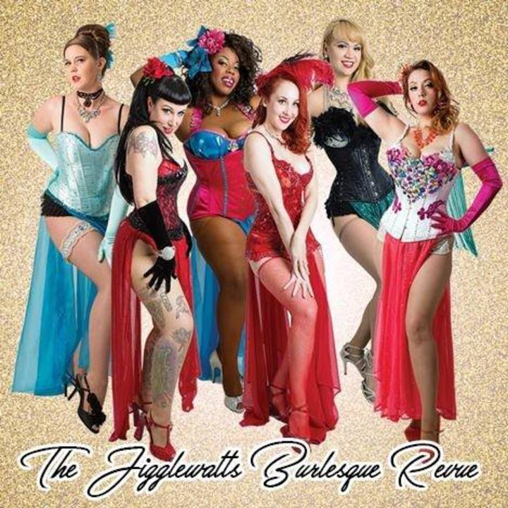 The Jigglewatts Burlesque Revue @ Three Clubs - Hollywood, CA