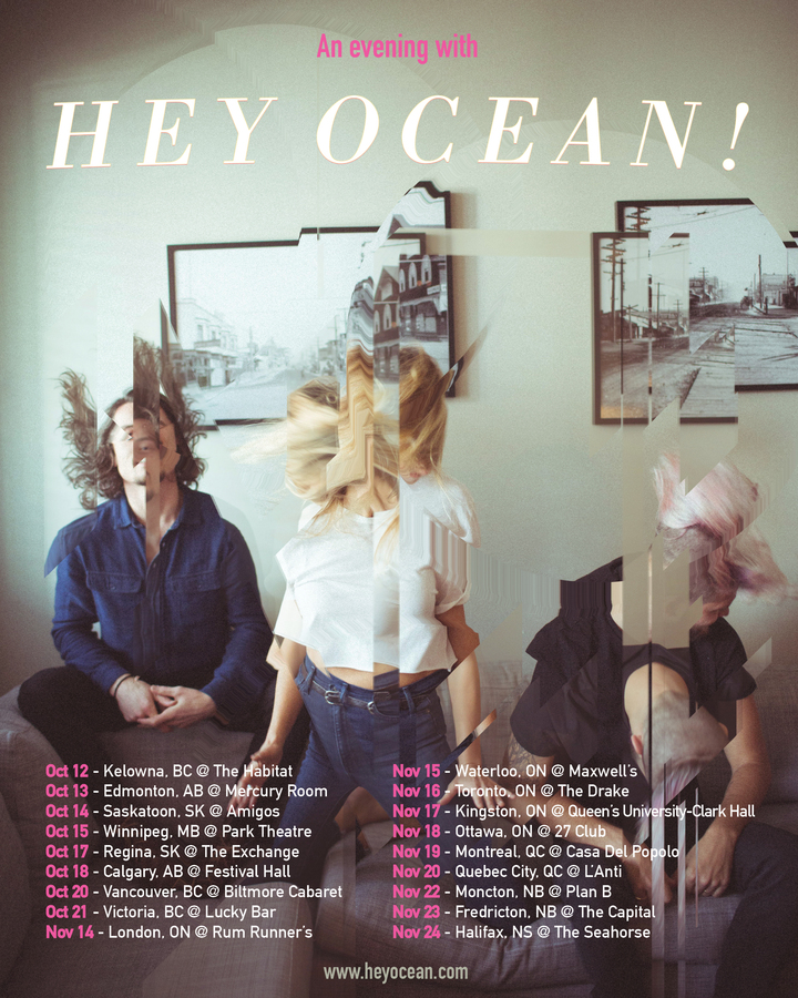Hey Ocean! @ The Park Theatre - Winnipeg, MB