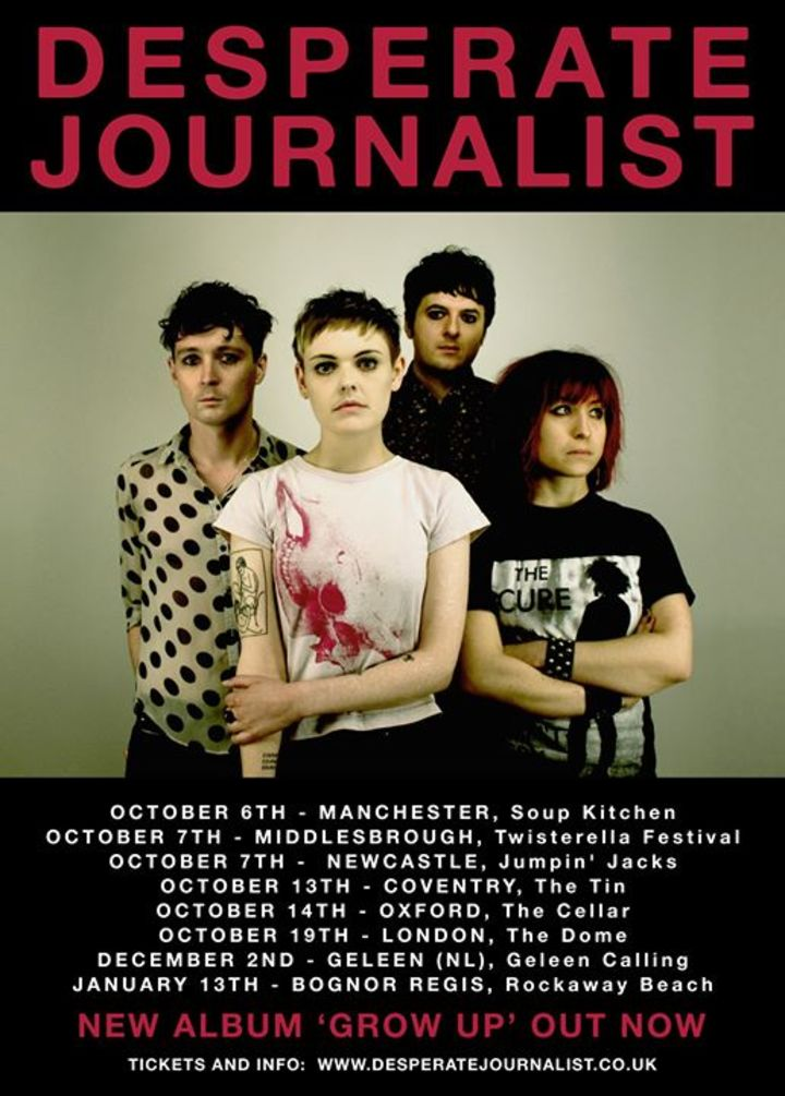Desperate Journalist Tour Dates