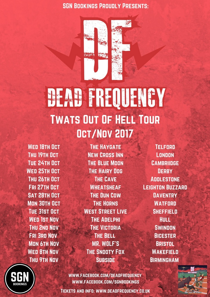 Dead Frequency @ The Horns  - Watford, United Kingdom