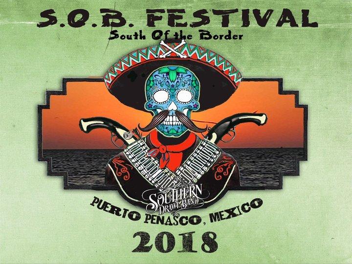 Southern Drawl Band @ SOB Festival  - Puerto Penasco, Mexico