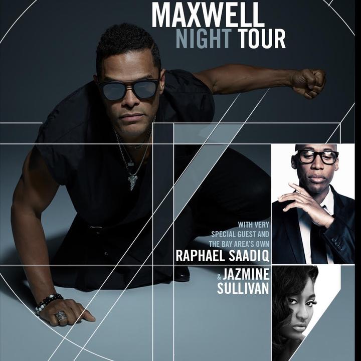 Maxwell @ Concord Pavillion (Bay Area show!) - Concord, CA