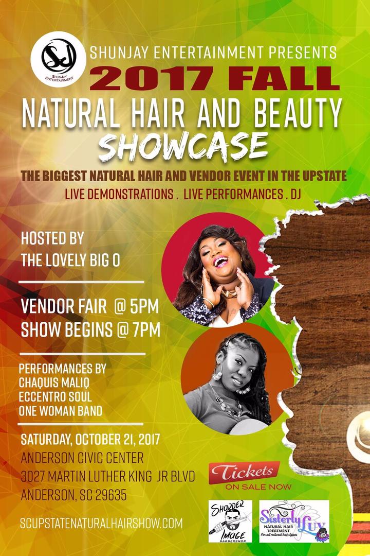 Chaquis Maliq Music @ SC Fall Natural Hair Show - Anderson, SC