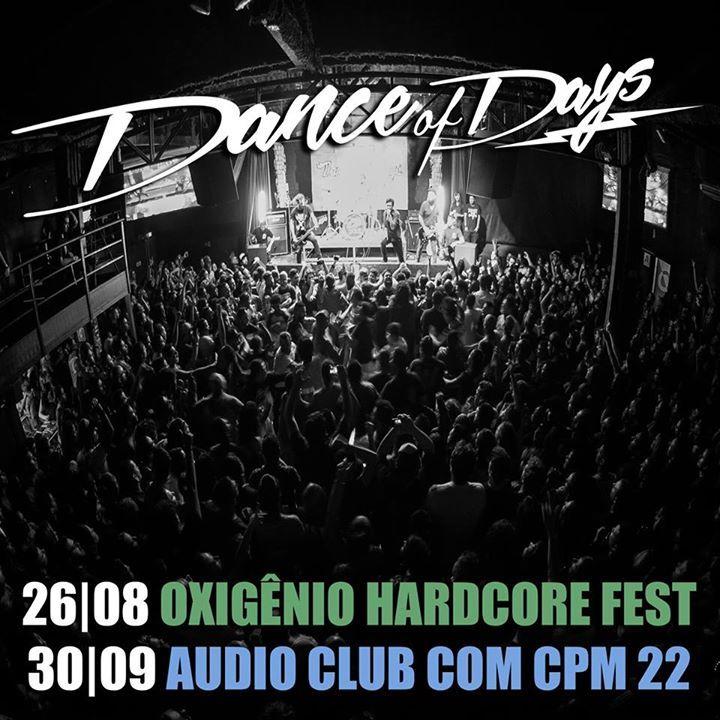 Dance of Days Tour Dates