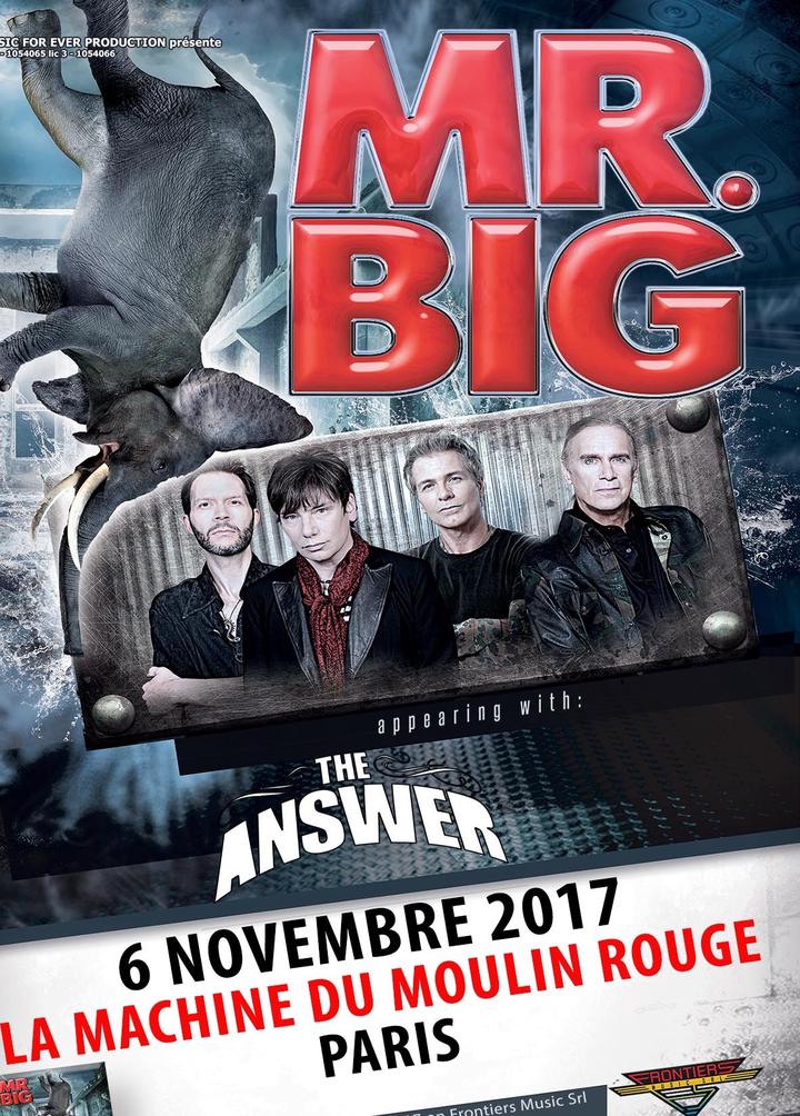 Mr. Big @ LA MACHINE DU MOULIN ROUGE - Paris, France