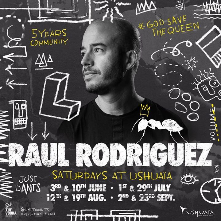 dj raul rodriguez @ In The Dark (HI Ibiza) - Ibiza, Spain