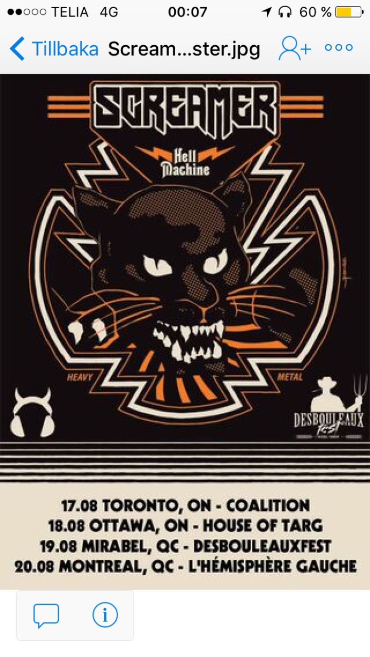 Screamer @ Coalition: T.O - Toronto, Canada