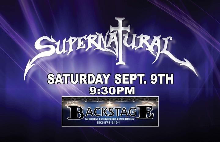 Supernatural - VT @ Backstage  - Essex Junction, VT