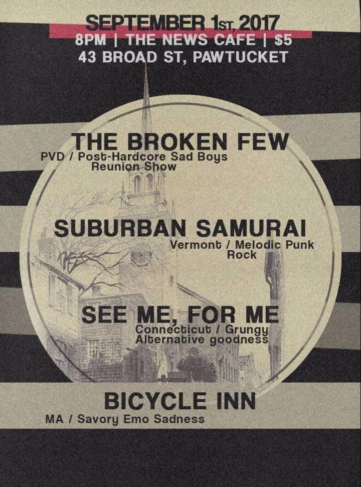Suburban Samurai @ News Cafe - Pawtucket, RI
