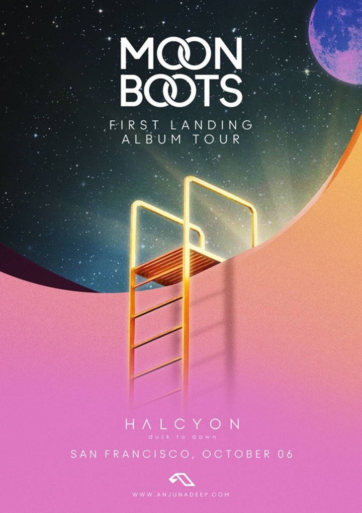 Moon Boots @ Halcyon - San Francisco, CA