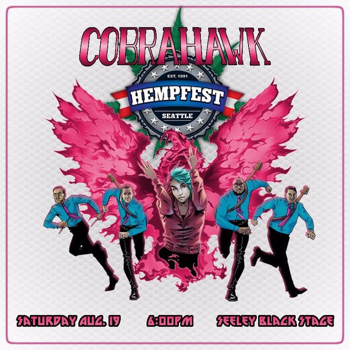 CobraHawk @ Hemp Fest - Seeley Black Stage - Seattle, WA