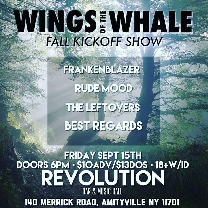 Rude Mood @ Revolution Music Hall - Amityville, NY
