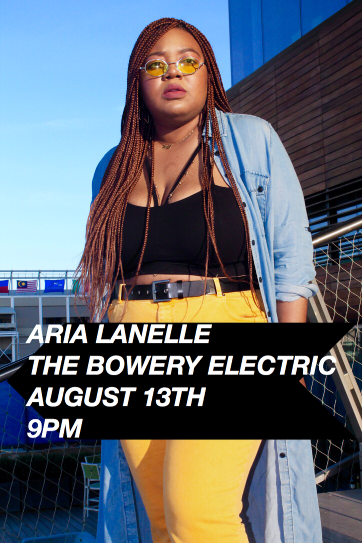 Aria Lanelle @ The Bowery Electric - New York, NY