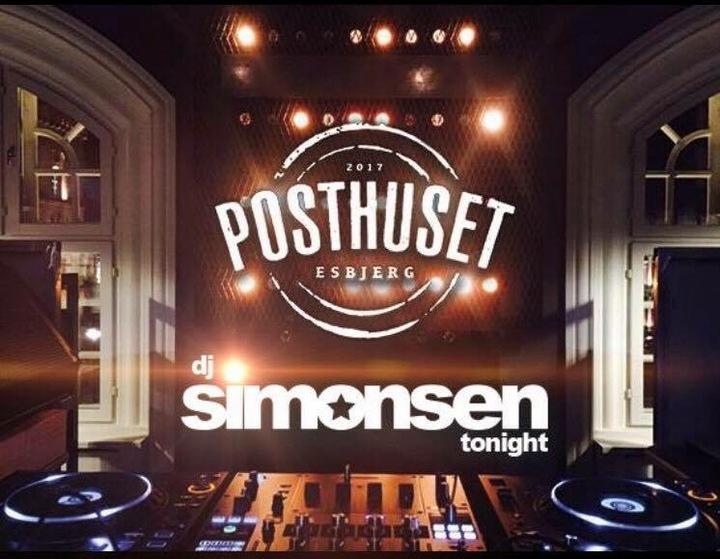 Dj Simonsen @ Posthuset - Esbjerg, Denmark