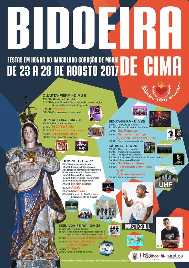 MastikSoul @ Festas da Bidoeira de Cima - Bidoeira De Cima, Portugal