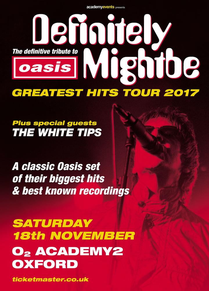 The White Tips @ 02 Academy Oxford  - Oxford, United Kingdom
