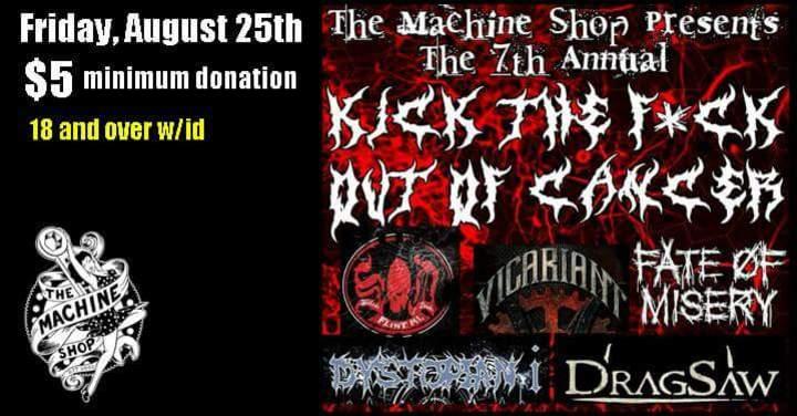 Vicariant @ The Machine Shop - Flint, MI