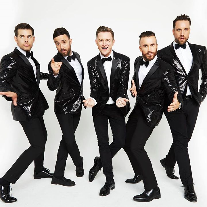 The Overtones @ Symphony Hall - Birmingham, United Kingdom