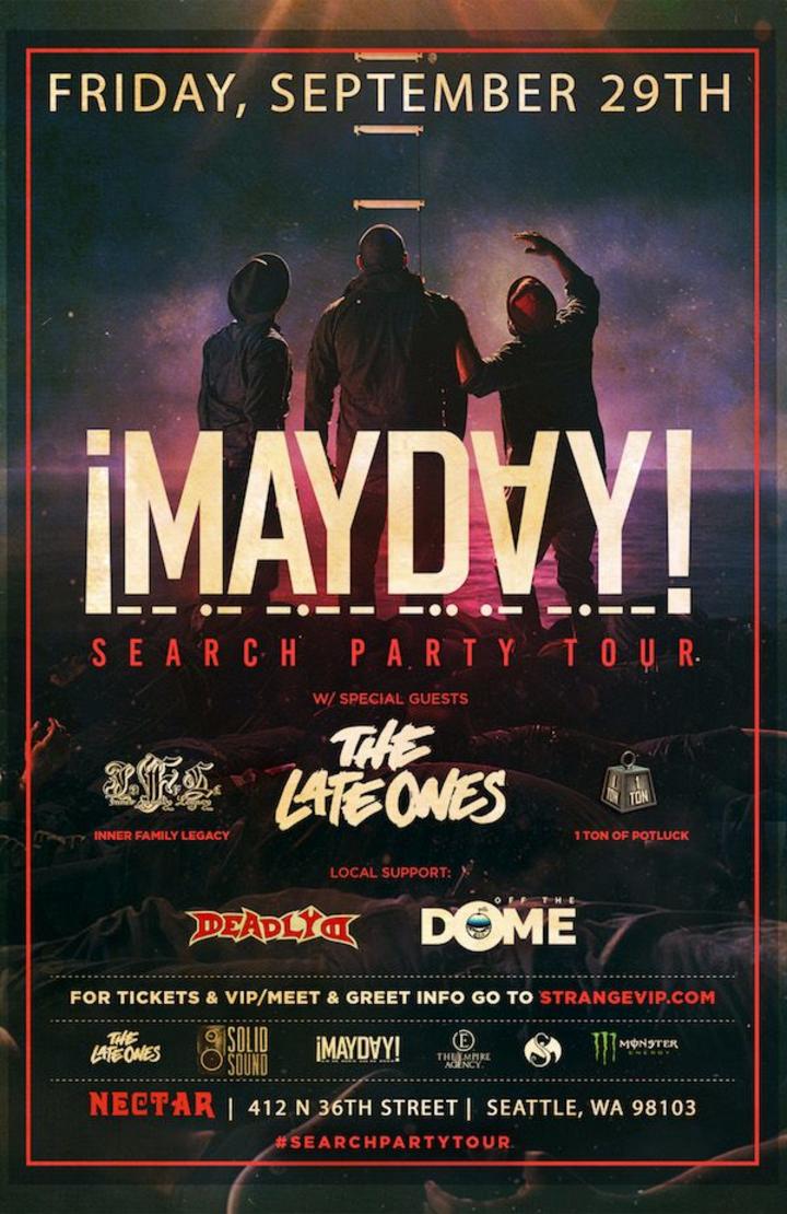¡Mayday! @ Nectar Lounge - Seattle, WA