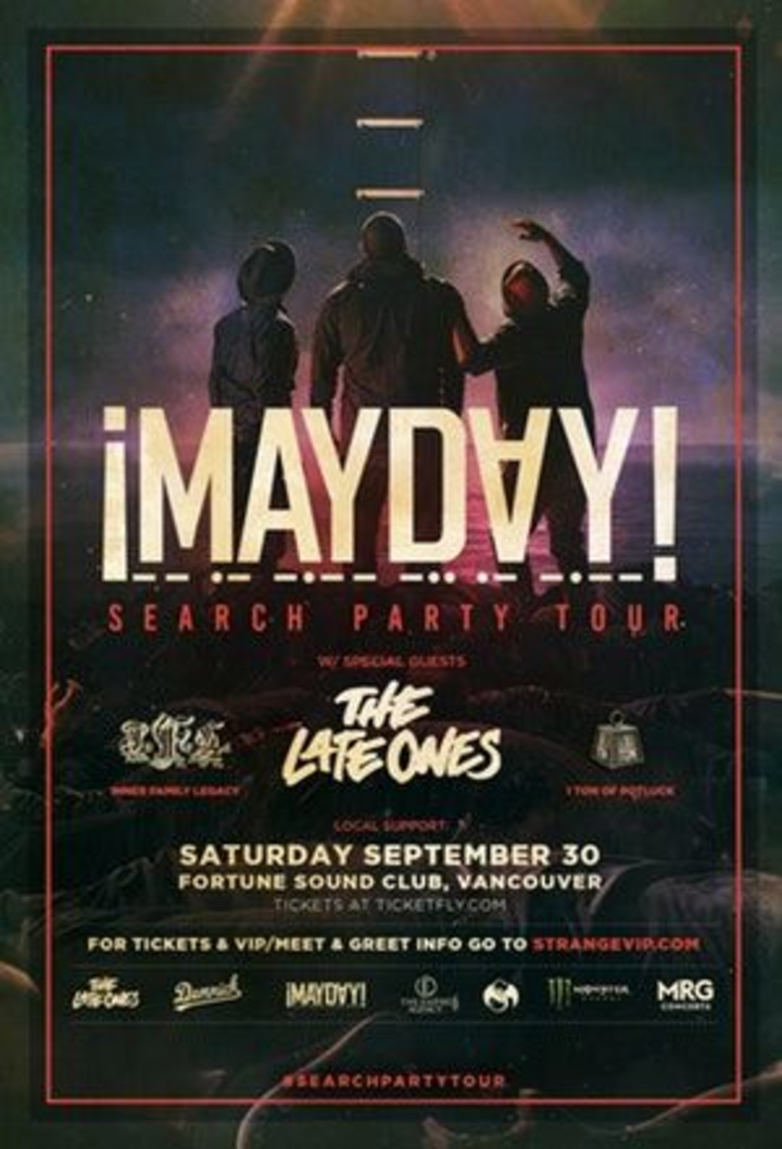 ¡Mayday! @ Fortune Sound Club - Vancouver, Canada